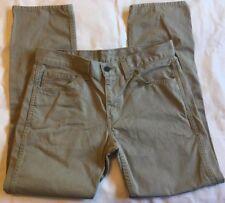 Levis 511 Men's Slim Fit Pants 32x30 Light Grey VGUC