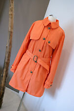 Tommy Hilfiger Trenchcoat Melone Mantel Regular Fit Gr.M Damen NEU
