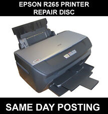 EPSON STYLUS PHOTO R265 R270 RESET SERVICE INKPAD ERROR DISC (FREE UK DELIVERY)