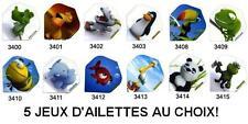 AU CHOIX 5 jeux = 15 ailettes flechettes Ruthless Cartoon ailette flechette