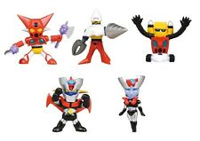 Takara Tomy Go Nagai Collection Vol.2 Figurines (5) Complete Set Mazinger Z
