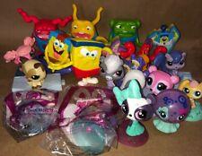 Lot Of 30+  McDonalds Toys - Home, SpongeBob, Littlest Pet Shop, Mario, & MORE!!