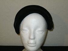 Vintage 1950's Velvet Marche' Exclusive French Hat
