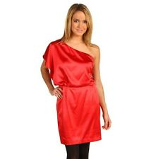 Jessica Simpson Women's Size 8 One Shoulder Red  Dress
