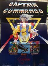 Captain Commando Poster Nintendo NES Only