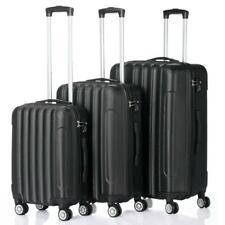"3PCS 20""24""28"" Luggage Travel Set Bag Trolley Hard Shell Suitcase w/TSA lock US"