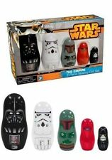 Star Wars 5 Pc THE EMPIRE Babushka Nesting Dolls - Vader Boba Fett Stormtrooper