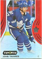 2019-20 Upper Deck Synergy Red Bounty Unscratched Code John Tavares Toronto #5