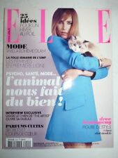Magazine mode fashion ELLE French #3492 30 novembre 2012 Dree Hemigway