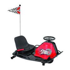 Razor Crazy Cart 24V Electric Drifting Go Kart Black and Red