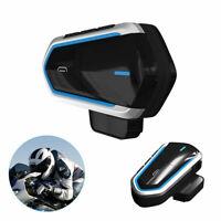 Bluetooth 4.1 Motorcycle BT Motorbike Helmet Headset Intercom Headphone Speaker