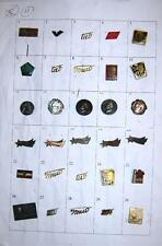 LOT of 30 pin badges - Ex Yugoslavia, Tito, Partizans etc. #18