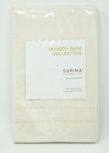 Hudson Park Collection 680TC 100% Supima Cotton - Pillow Sham - KING - Ivory