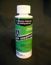 BTF IODOPHOR SANITIZER 4 oz IODINE STERILIZER B-T-F FOR MR BEER MAKING KIT WINE