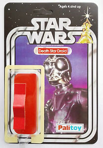 1979 PALITOY DEATH STAR DROID 20 BACK RESTORE KIT SELF ADHESIVE HOME YOUR TOY