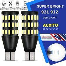 2x 54SMD T15 LED 912 921 W16W Backup Reverse Light White bulb Kit 2200LM 6000K E