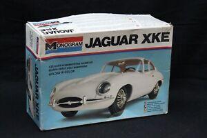 Monogram JAGUAR XKE Model Kit 1:25 Open Box NICE