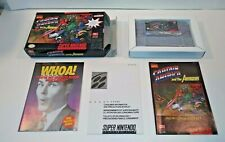 CAPTAIN AMERICA and THE AVENGERS (Super Nintendo) COMPLETE IN BOX!! SNES