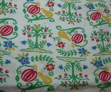 Authentic Full Vintage Feedsack Onion Quilt Sewing Doll Clothes Fabric Uncut