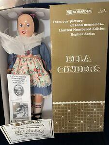 "Horsman Ella Cinders Doll 1988 17"" Vinyl Cloth Body in Original Box  # 7147-2"