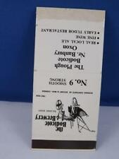 BODICOTE BREWERY PLOUGH OXON RESTAURANT WILMINGTON MATCHBOOK VINTAGE ADVERTISING