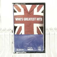 who's greatest hits cassette tape1983 MCA