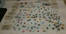 Lot of vintage mint and canceled stamps various countries