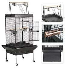 X Large Big Parrot Bird Finch Cage For Macaw Cockatoo Strong Metal Huge XXL NEW!