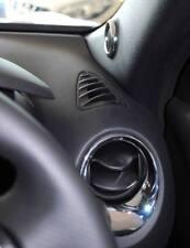 NISSAN Juke Chrome interior styling chauffage évents haut-parleurs neuf origine ke6001k10c