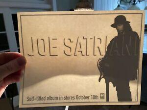 Vintage Joe Satriani Window Static Cling 1995