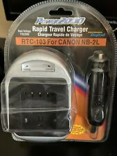 Rapid travel charger RTC-103 for canon NB-2L