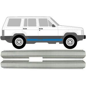 Jeep Cherokee XJ 1984-2001 Schweller Reparaturblech / Rechts und Links / Paar