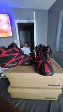 reebok kamikaze 1 Size 9 red and black