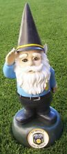 "Garden Accent Extra Large Police Officer Gnome Lawn Decoration NEW 13"" tall"