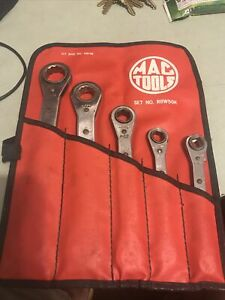 Mac Tools RBW50K SAE 5 pc 1/4 - 7/8 Ratchet Wrench set