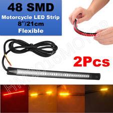 2x LED Strip Brake Stop Tail Light Victory Hammer Jackpot High Ball Magnum V92C