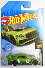 Hot Wheels 2020 Q 2021 A Case 2018 Bentley Continental Gt3 Green In Stock In Us