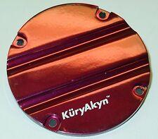 Kuryakyn Hypercharger Trap Door - Blood Groove - Victory Red - 8430BG