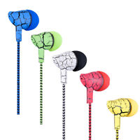 Earphone Wired Super Bass Microphone Hands Free Headphone for Mobile Phone Perfe