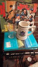 TORONTO BLUE JAYS 1992 WORLD SERIES MEMORABILIA - 2 GLASSES, 2 S.I. & PENNANT !