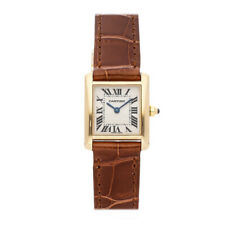 Cartier Tank Francaise Small Quartz Yellow Gold Ladies Strap Watch W50002N2