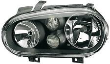 ORIGINAL HELLA VW Golf 4 Scheinwerfer links schwarz 1EL007700-151 GTI Jubi