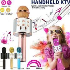 WS-858 Portable Wireless Karaoke Mikrofon Microphone Handheld Cellphone Player