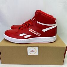 Reebok BB 4600 Men's Red Leather Basketball Shoes Size 9.5 New Free Shipping