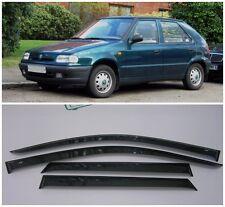 For Skoda Felicia I Hb 1994-1998 Side Window Visors Rain Guard Vent Deflectors