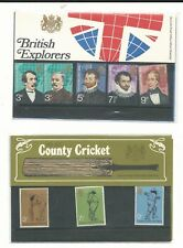 Great Britain Collection of Mint NH Presentation Packs, 24 Different