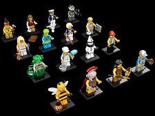 NEW LEGO 71001 Complete Set of 16 MINIFIGURES SERIES 10 Bumblebee Girl Grandpa