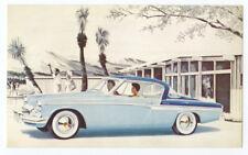 1955 STUDEBAKER COMMANDER V-8 Starliner Regal - Original Issue Postcard