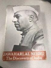 JAWAHARLAL NEHRU DISCOVERY OF INDIA BOOK 1998 PRINTING ISBN 195613228