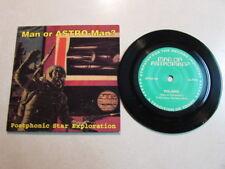 "MAN OR ASTRO-MAN POSTPHONIC STAR EXPLORATION 5"" VINYL 1995 SURF SPACE ROCK OOP"